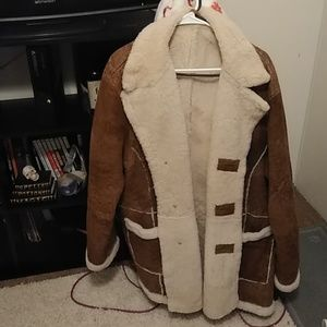 Oscar Leopold leather jacket